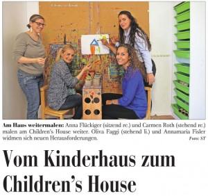 Lenzburger Anzgeiger Titelbild 29.05.2014